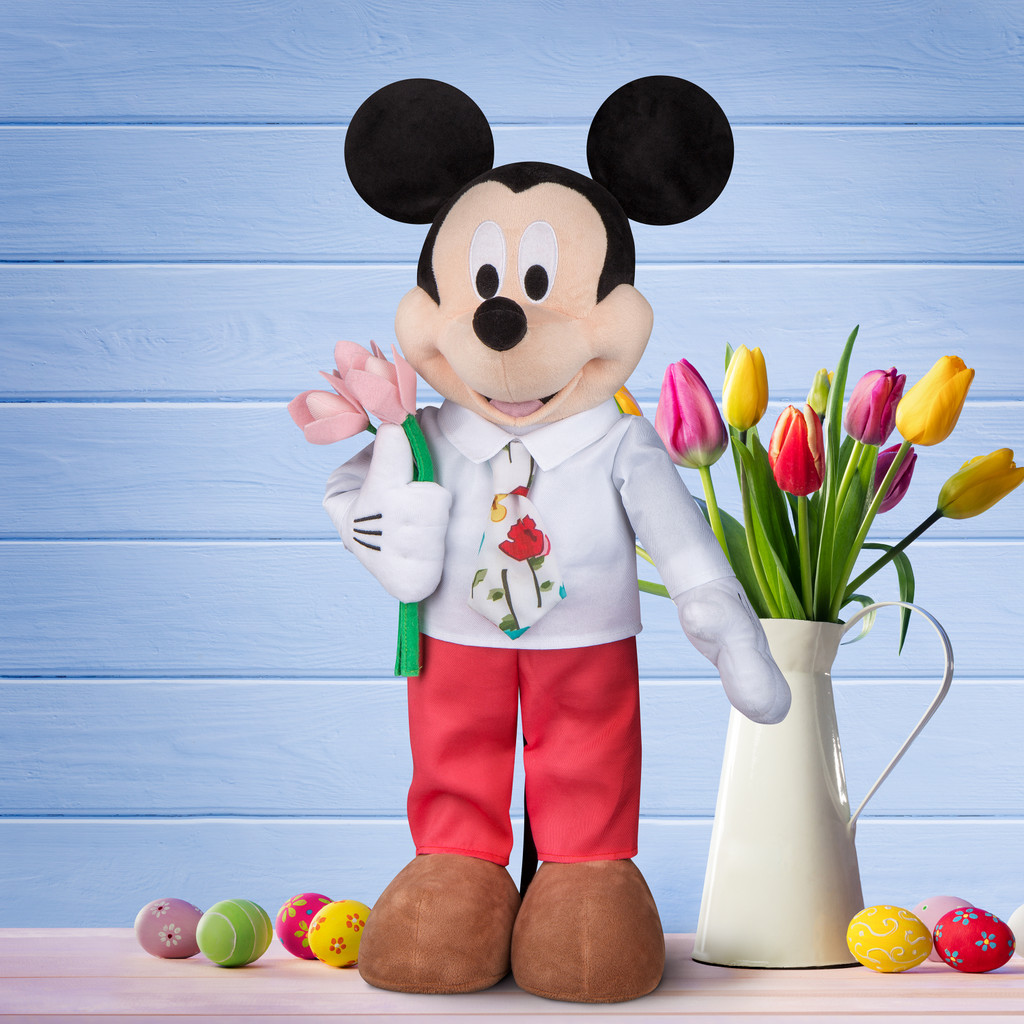 Mickey Mouse with Tulips