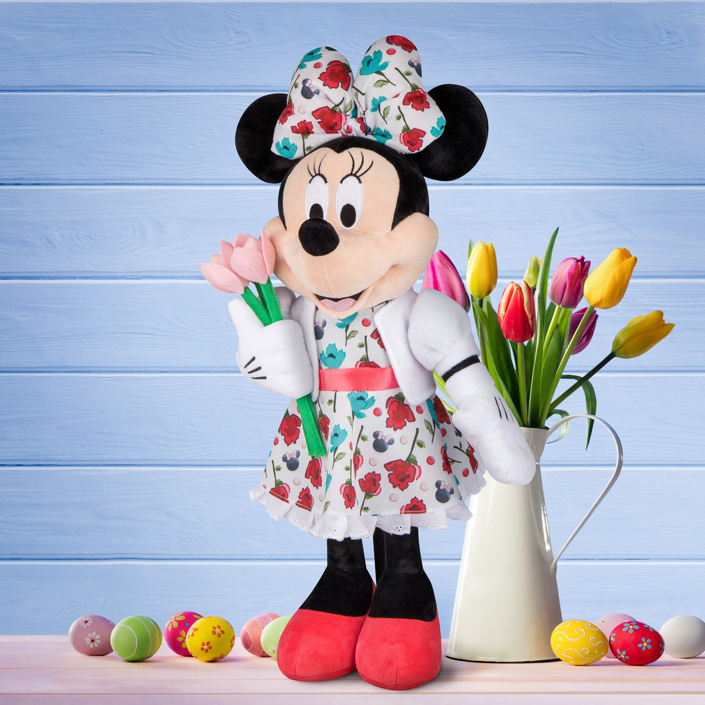 Minnie Mouse with Tulips