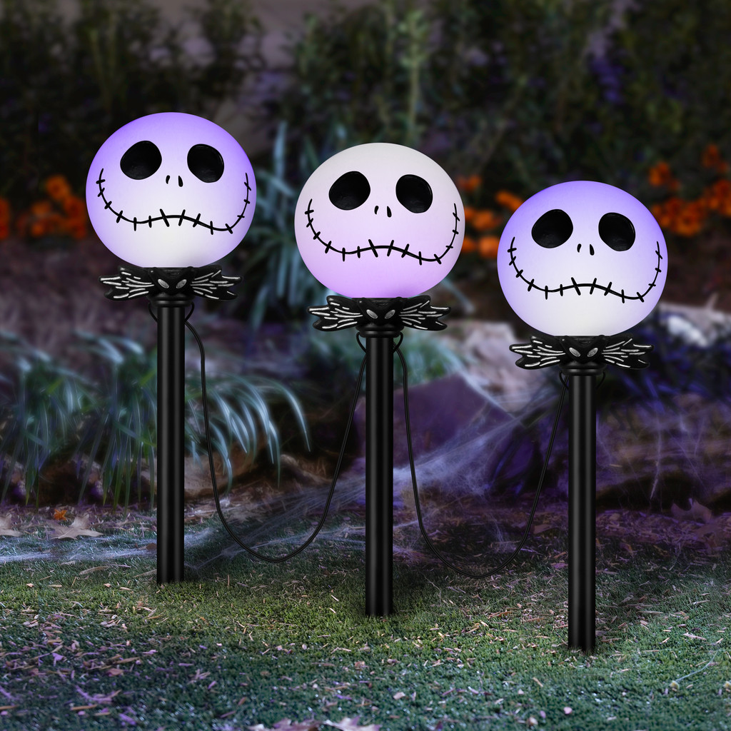 LED Nightmare Before Christmas Pathway Markers
