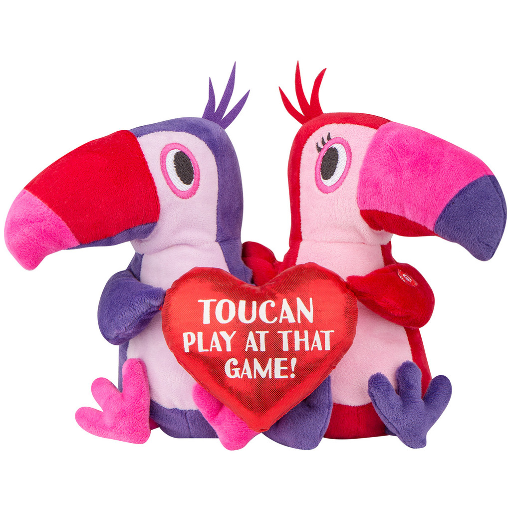 Swaying Valentine Toucans