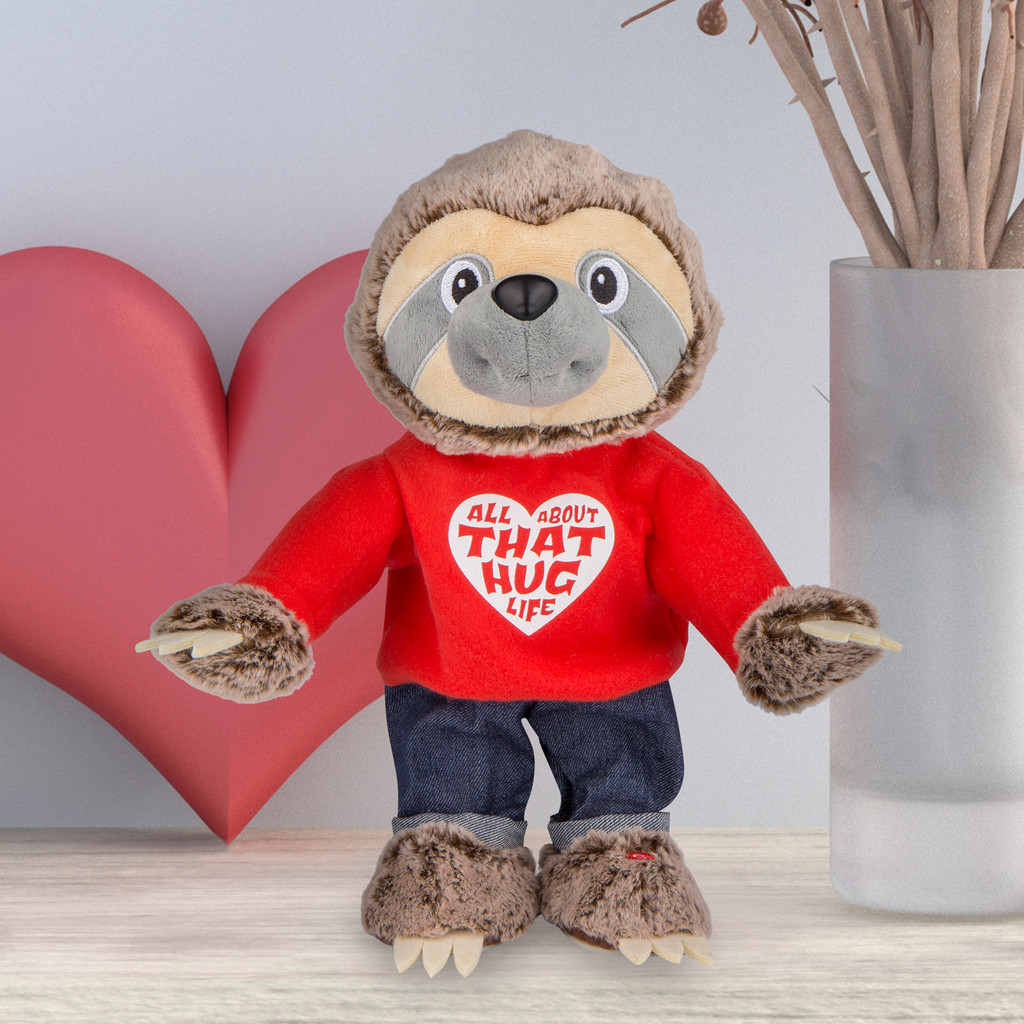 Hands In The Air Valentine Sloth