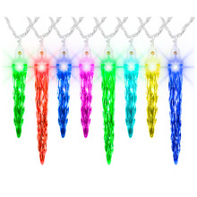 ColorMotion Deluxe Icicle Light String