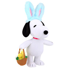 Side Stepper Snoopy with Bunny Ears