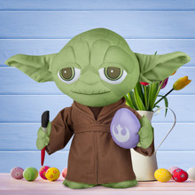 Yoda with Paint Brush and Egg