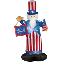 Airblown Inflatable Uncle Sam with Banner