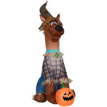 Scooby-Doo as Scarecrow