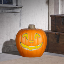 "20"" Smiley Jack-O'-Lantern with Sound"
