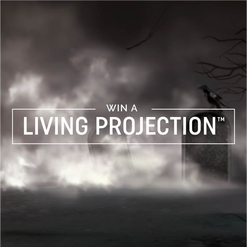 Win a Living Projection™ Reaper Globe for Halloween!