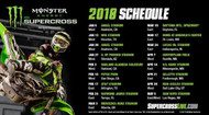 Local Races are Dropped As The 2018 Monster Energy Supercross Schedule Is Announced