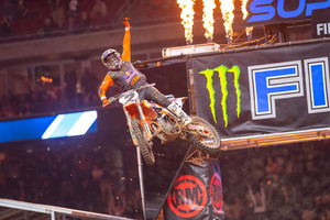Cooper Webb Delivers KTM's First 450SX Win of 2021