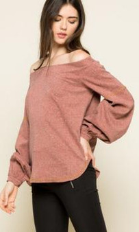 Women Off-shoulder Top with Embellishment