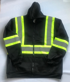 Reflective Construction Hoodie A6H7308