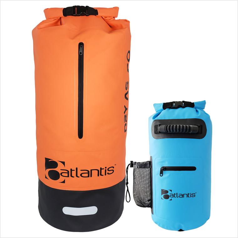 Atlantis 'Dry As' 60L Drybag - Orange