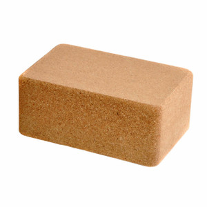 "4"" Cork Yoga Block (4"" x 6"" x 9"")"
