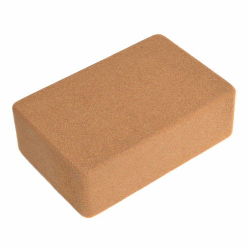 "3"" Cork Yoga Block (3"" x 6"" x 9"")"
