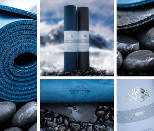 """Vista Yoga Mat by Mount Adams®  (72"""" x 26"""" x 6mm)"""