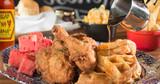 Cook Creole Chicken Boudin Waffles with Slap Ya Mama Cajun Pepper Sauce
