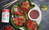 White Pepper Blend Poke Tuna Wraps