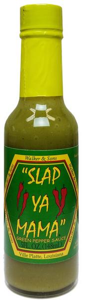 Slap Ya Mama - Green Pepper (Jalapeno) Sauce