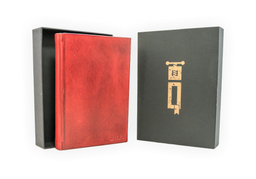 Large Planner 2020 - Daily - Leather | Echo Collection