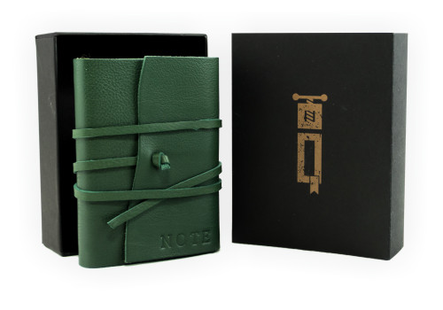 Small Notebook - Certified Leather | Veteris Collection