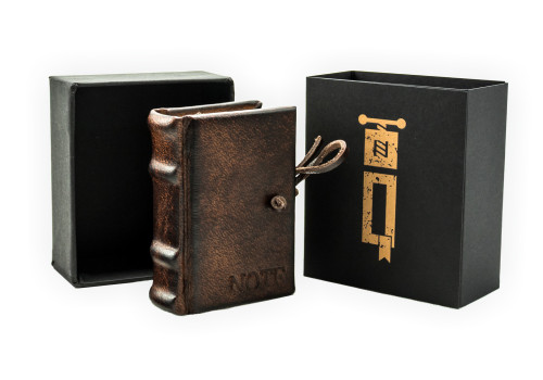 Mini Notebook - Leather | Narcissus Collection