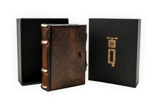 Small Notebook - Leather | Narcissus Collection