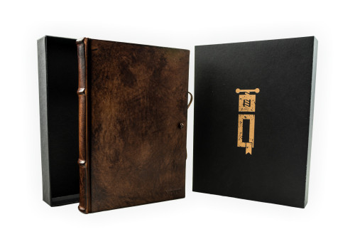 Small Guestbook - Leather | Narcissus Collection