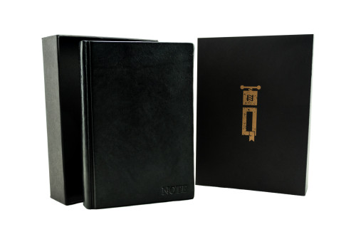 Medium Notebook - Leather | Echo Collection