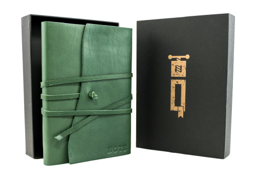 Large Notebook - Certified Leather | Veteris Collection