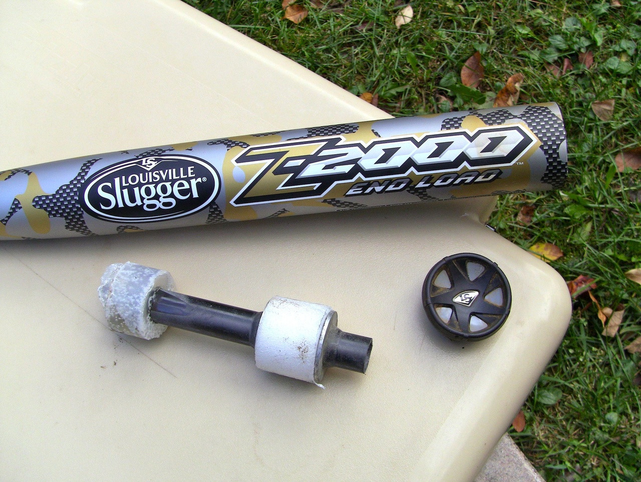 louisville slugger disc removal