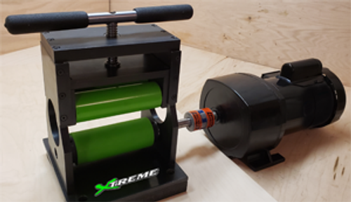 2019 Panther Duo Core - Xtreme Green - Bat Rolling Machine
