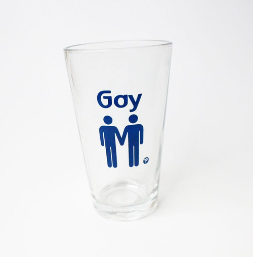Gay Pint Glass