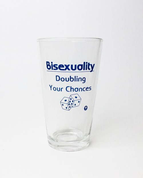 Bisexual Pint Glass