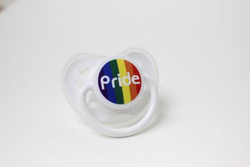 Gay Pride Rainbow Baby Pacifier