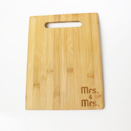 Mrs. & Mrs. Cheese Board