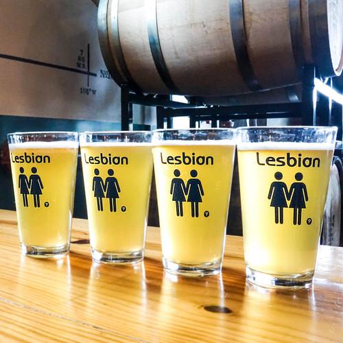Lesbian Pint Glass Set