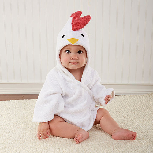 Pride Chicken Baby Towel