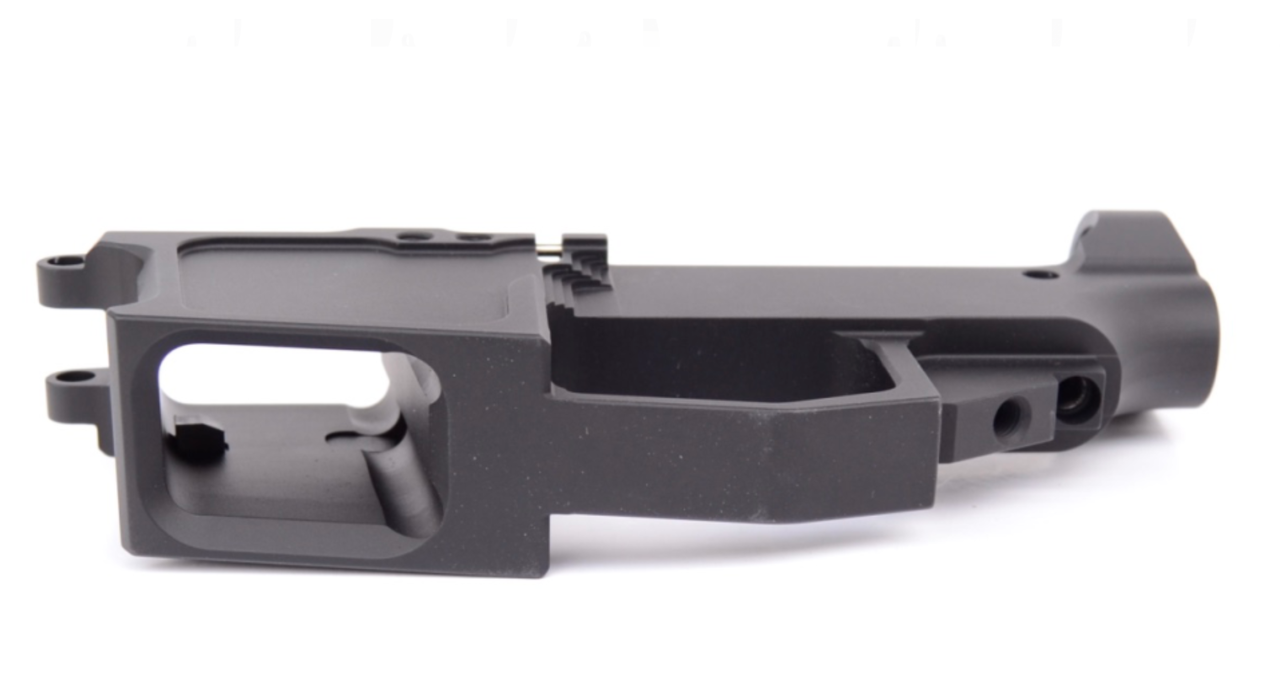 NEW FRONTIER 80% AR15 45ACP LOWER RECEIVER - GLOCK MAG COMPATIBLE -  ANODIZED BLACK