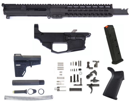 NEW FRONTIER PISTOL CALIBER NON-RECIPROCATION SIDE CHARGING
