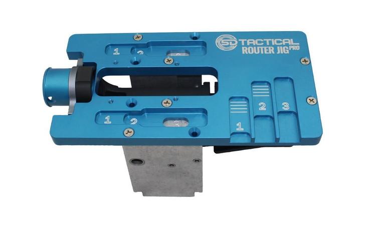 5D TACTICAL ROUTER JIG PRO MULTI PLATFORM AR15, AR10, 9MM