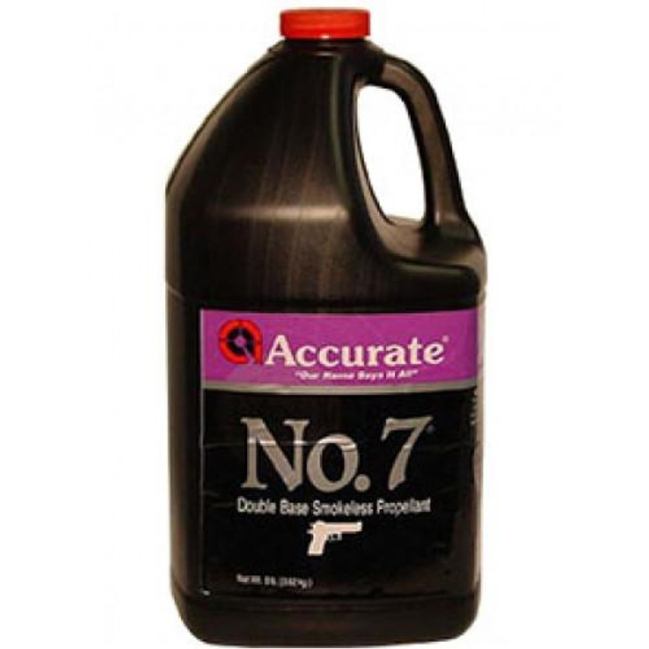 ACCURATE NUMBER 7 SMOKELESS PROPELLANT - 8 LB