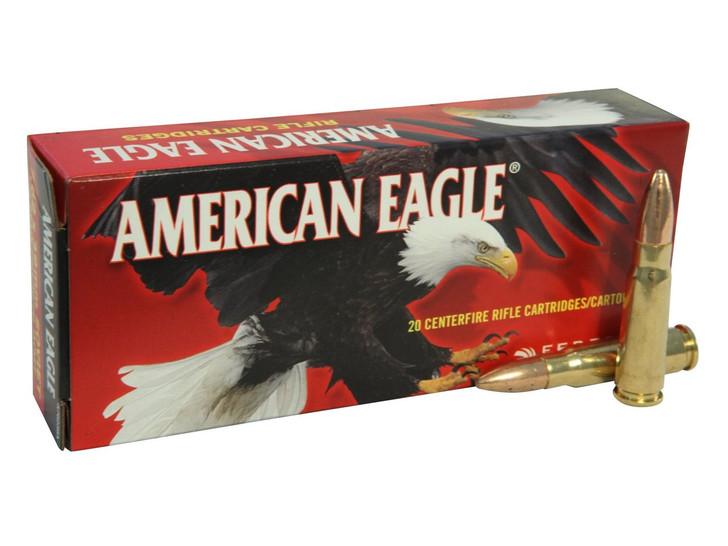 AMERICAN EAGLE 7.62X39 124GR FMJ - 20RD