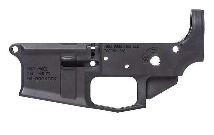 AERO PRECISION M4E1 STRIPPED LOWER RECEIVER - ANODZIED BLACK