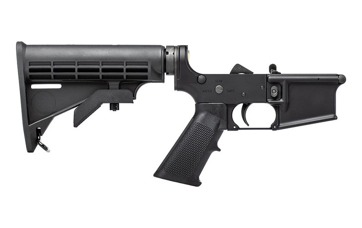 AERO PRECISION M4A1 CLONE COMPLETE LOWER - ANODIZED BLACK