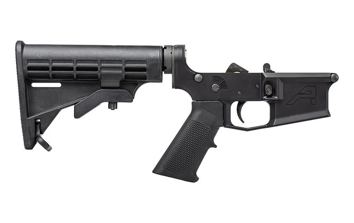AERO PRECISION M4E1 COMPLETE RECEVIER w/A2 GRIP AND M4 STOCK - ANODZIED BLACK