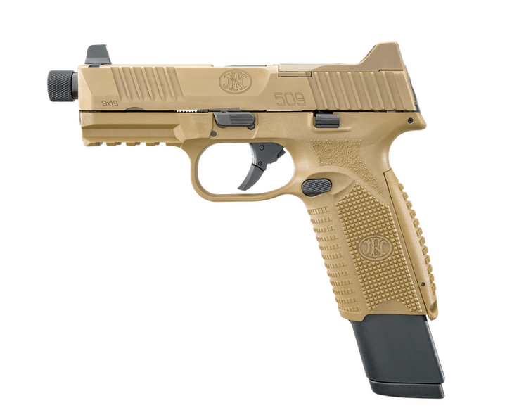 FN 509 TACTICAL 9MM PISTOL FDE