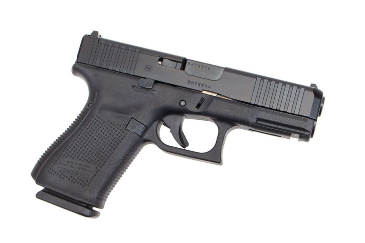 GLOCK 19 GEN 5 PISTOL 9MM FRONT SERRATIONS 15RD - MOS