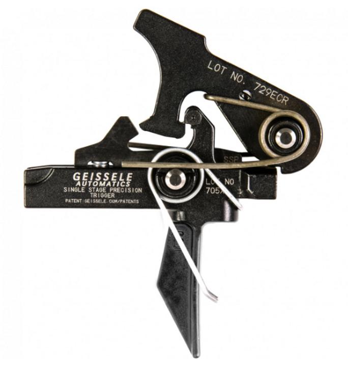 GEISSELE  AR15/AR10 SINGLE STAGE PRECISION FLAT BOW TRIGGER