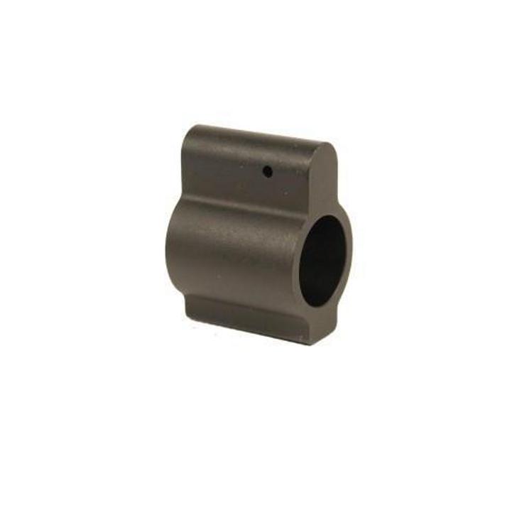 GUNTEC AR15 .625 ALUMINUM LOW PROFILE BARREL GAS BLOCK - BLACK